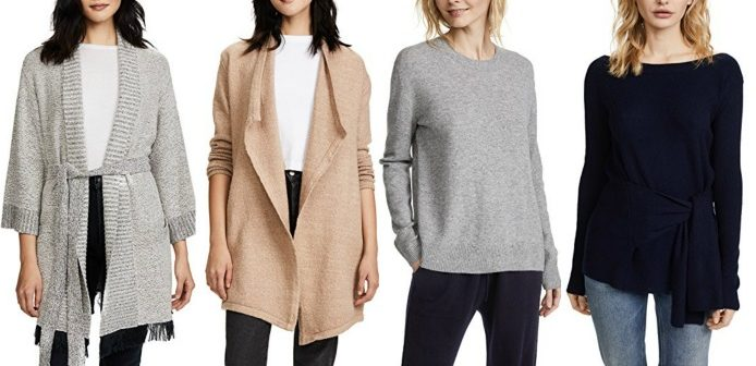 Cozy chic pieces - The 6 best buys from the Shopbop sale | 40plusstyle.com