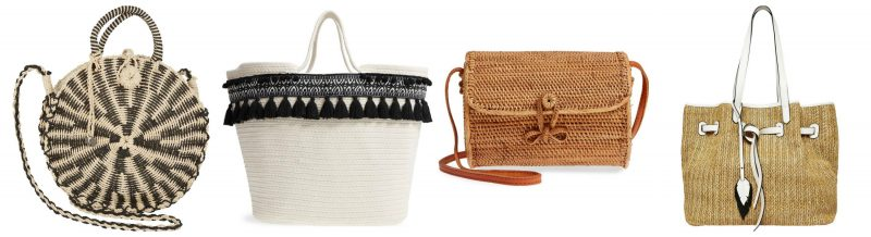 Straw bags for spring and summer | 40plusstyle.com