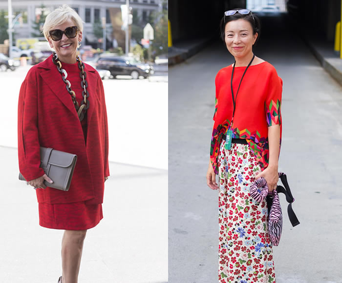 Streetstyle inspiration from women over 40   40plusstyle.com