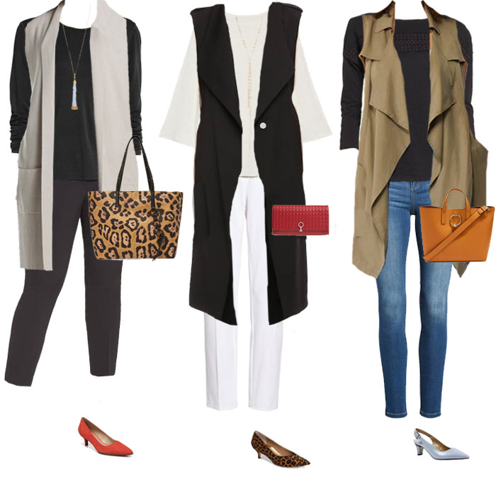 How to style vests - 11 sure fire ways to hide your belly with the right clothes | 40plusstyle.com