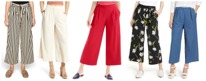 Wide leg pants pieces to instantly update your wardrobe this spring | 40plusstyle.com