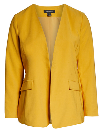 The perfect yellow blazer for women over 40 | 40plusstyle.com