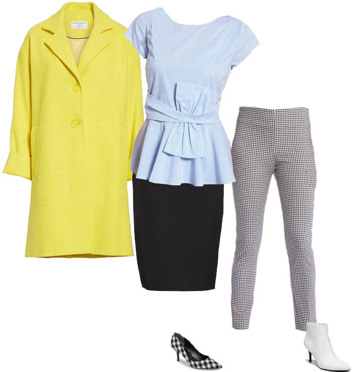 How to wear yellow and brighten up your day! | 40plusstyle.com