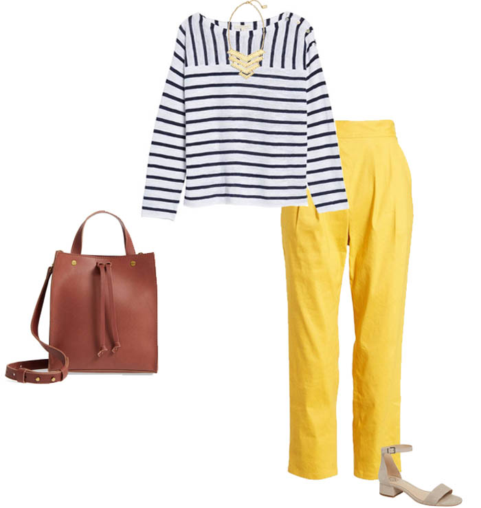 Style tips on how to wear yellow | 40plusstyle.com