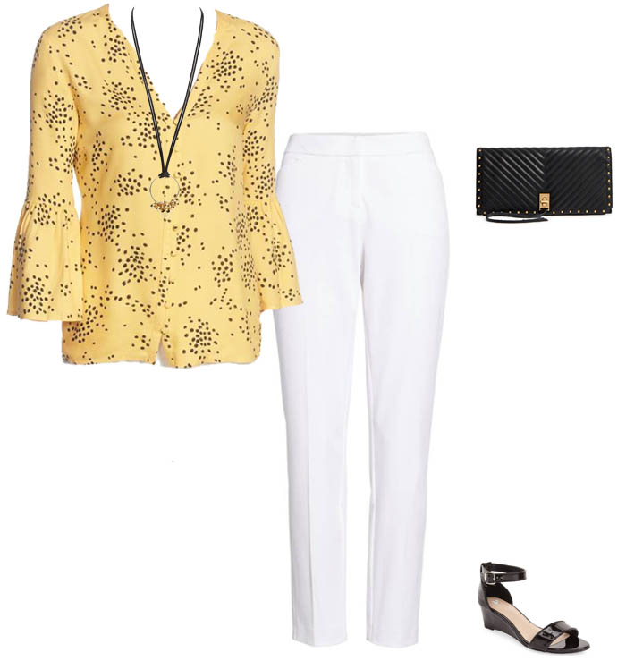 Tips on how to wear yellow prints | 40plusstyle.com