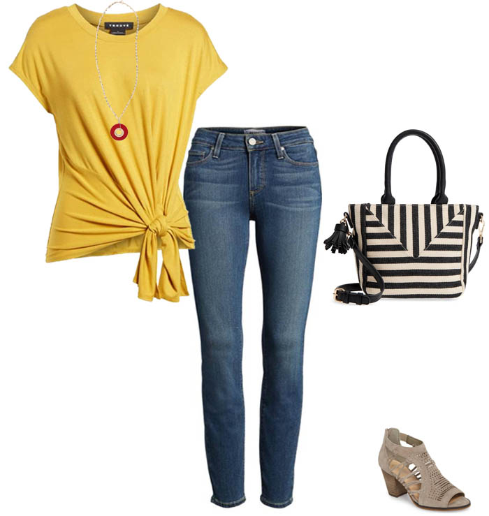 Ideas on how to wear yellow | 40plusstyle.com