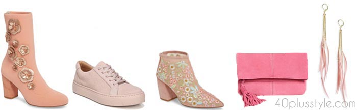 Stylish pink shoes | 40plusstyle.com