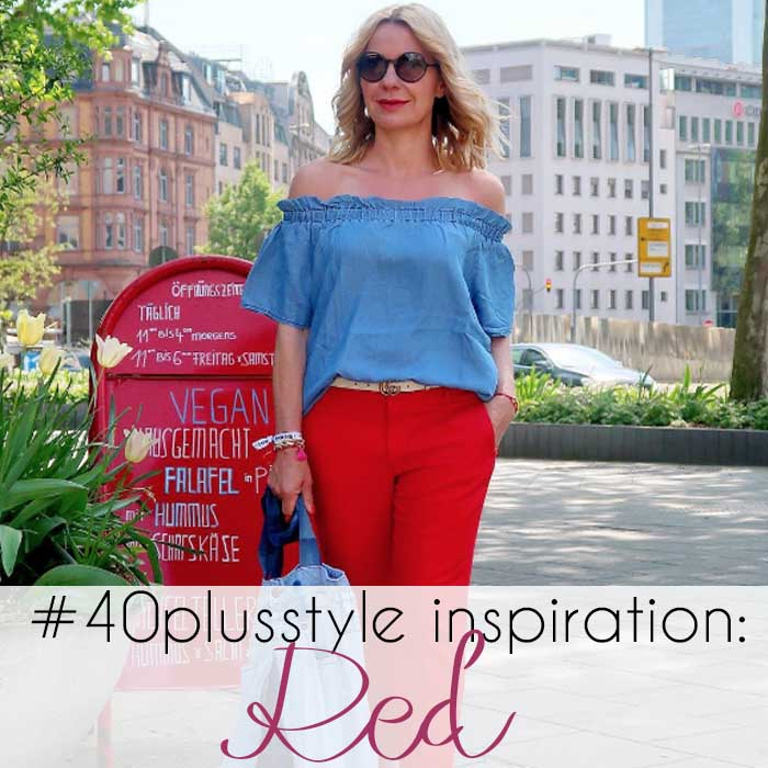 #40plusstyle Inspiration: 19 stylish looks featuring red!