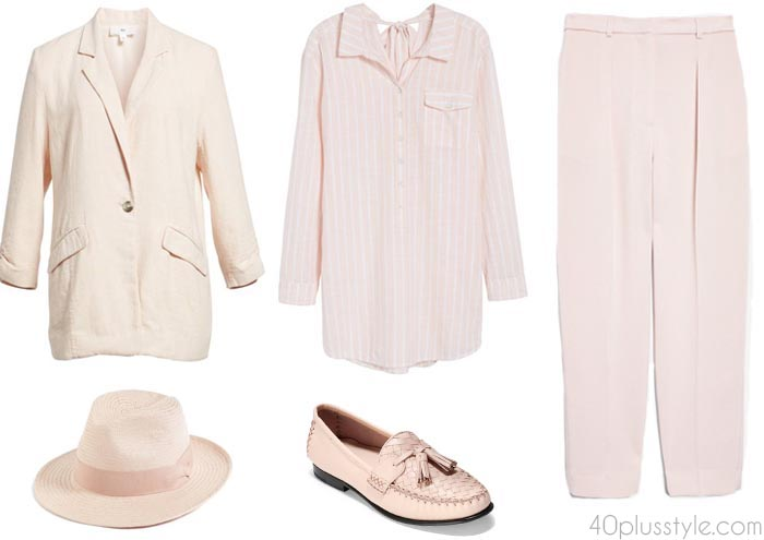 Stylish ways to wear pink | 40plusstyle.com