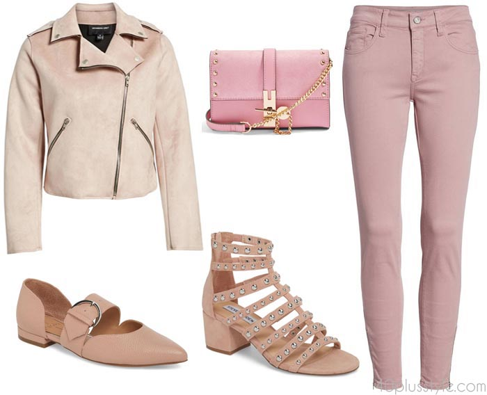 Chic and edgy pieces in pink | 40plusstyle.com