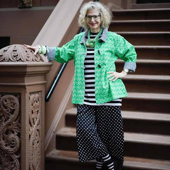 Green jacket - #40plusstyle inspiration: green   40plusstyle.com