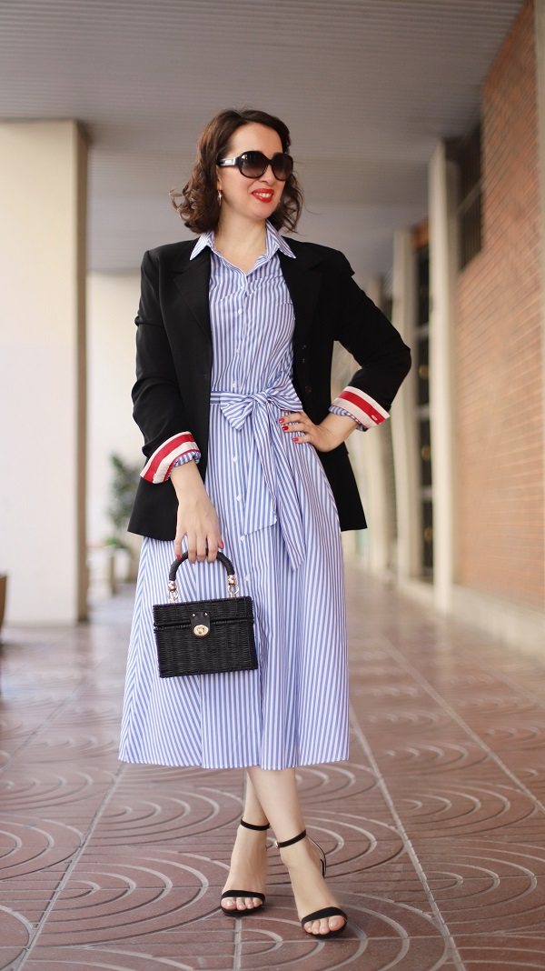 How to style a blazer with your dress   40plusstyle.com