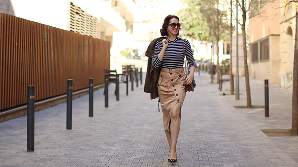 Classic ideas on how to wear stripes | 40plusstyle.com