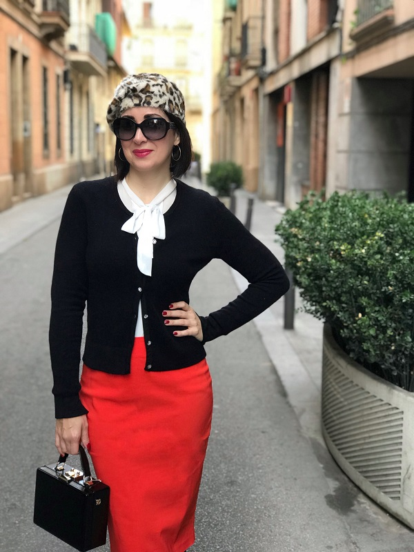 Classic with a chic twist: A style interview with Patricia Africa Iglesias Martinez | 40plusstyle.com