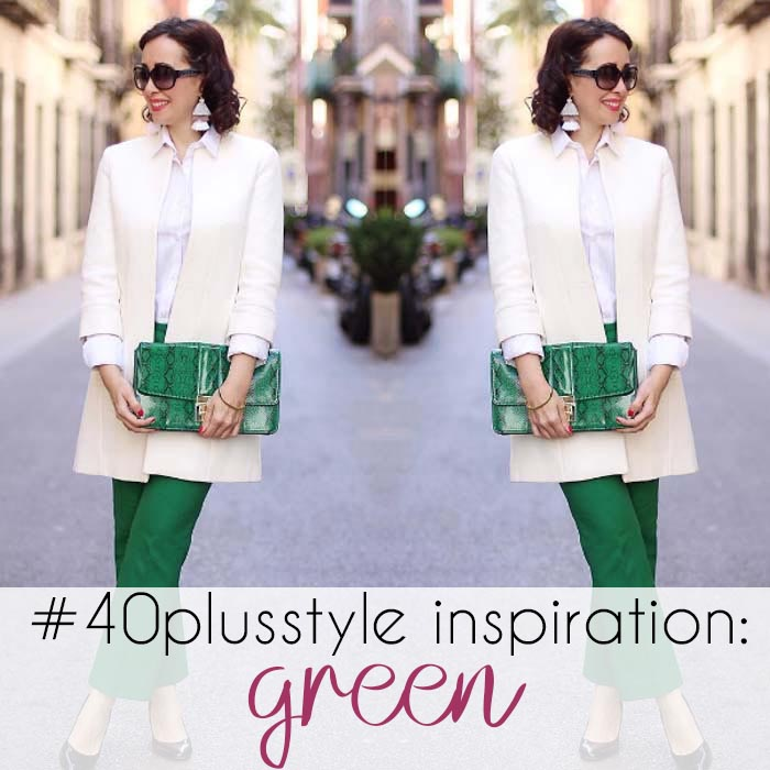#40plusstyle inspiration: green | 40plusstyle.com