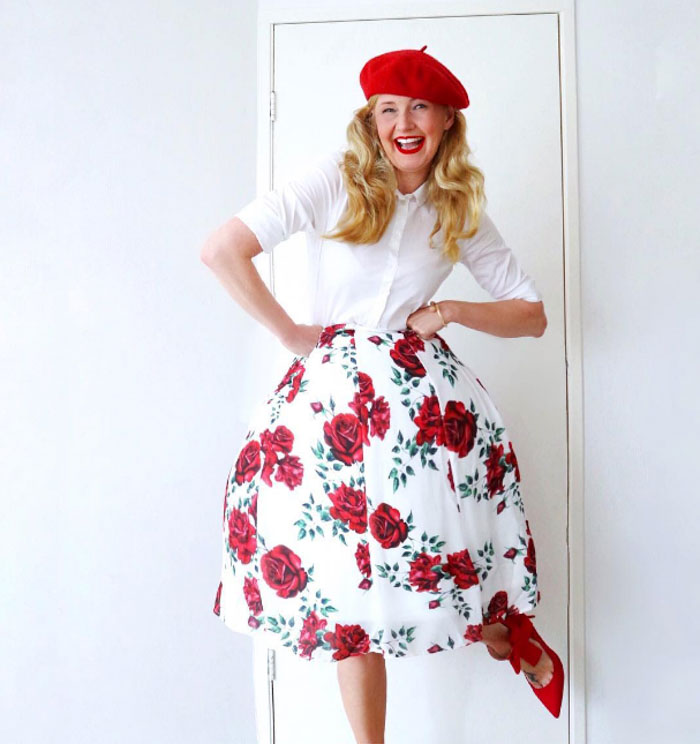 Chic red and white looks | 40plusstyle.com