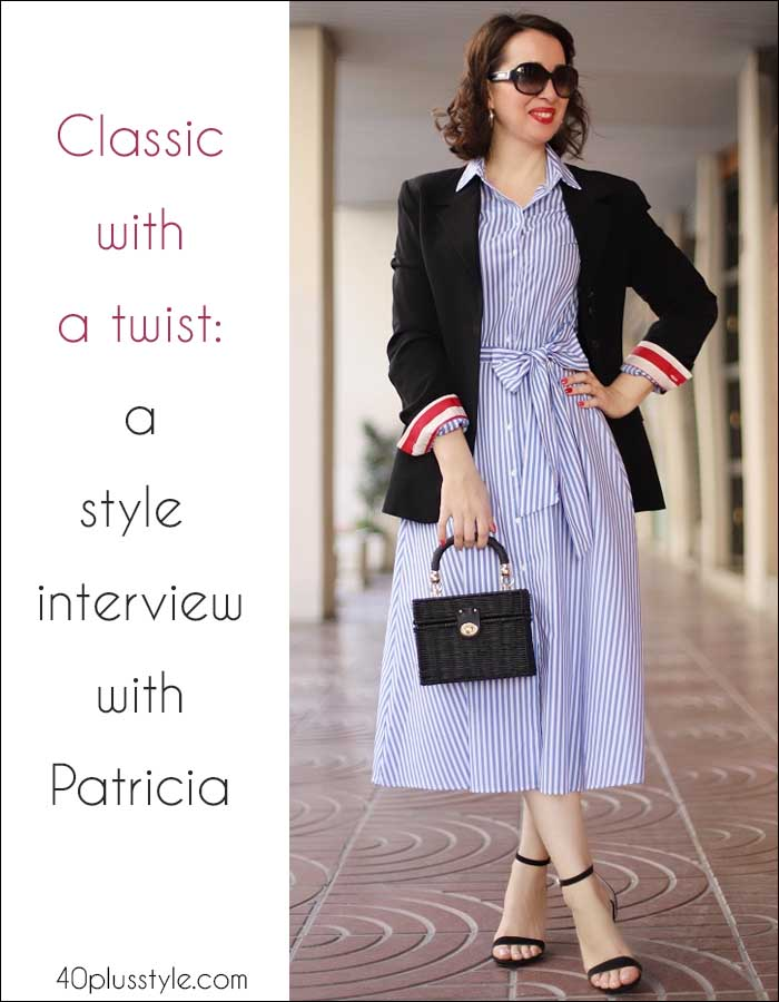 A style interview with Madame Chic BCN | 40plusstyle.com