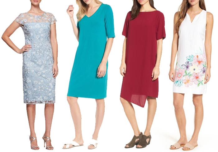 summer dress to suit your body type | 40plusstyle.com