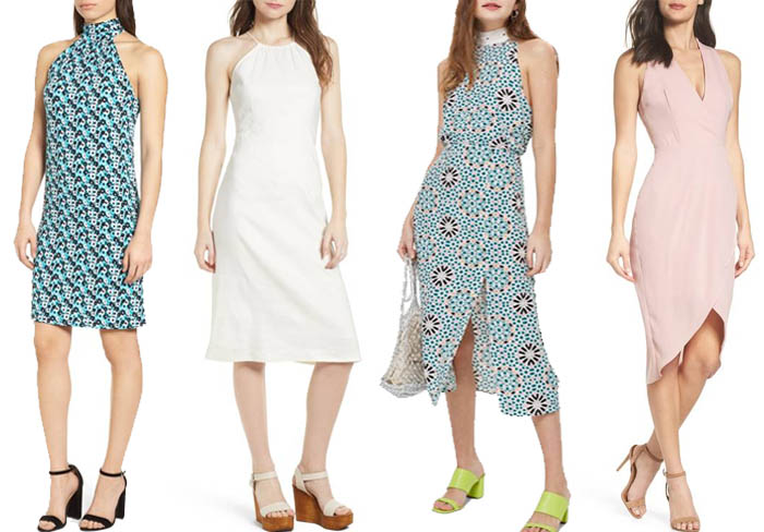 Summer dresses for the inverted triangle body shape | 40plusstyle.com