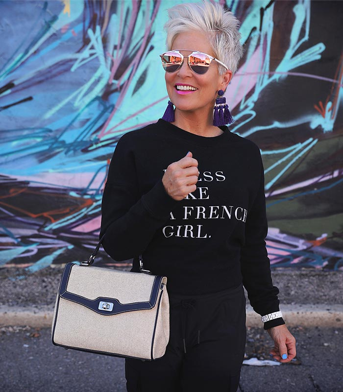 A style interview with Shauna | 40plusstyle.com