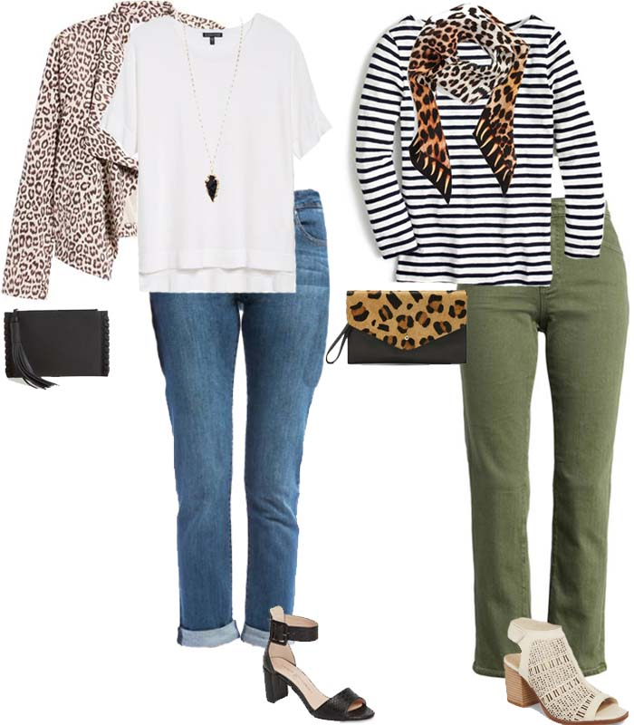 5 chic ways to wear leopard print in summer | 40plusstyle.com