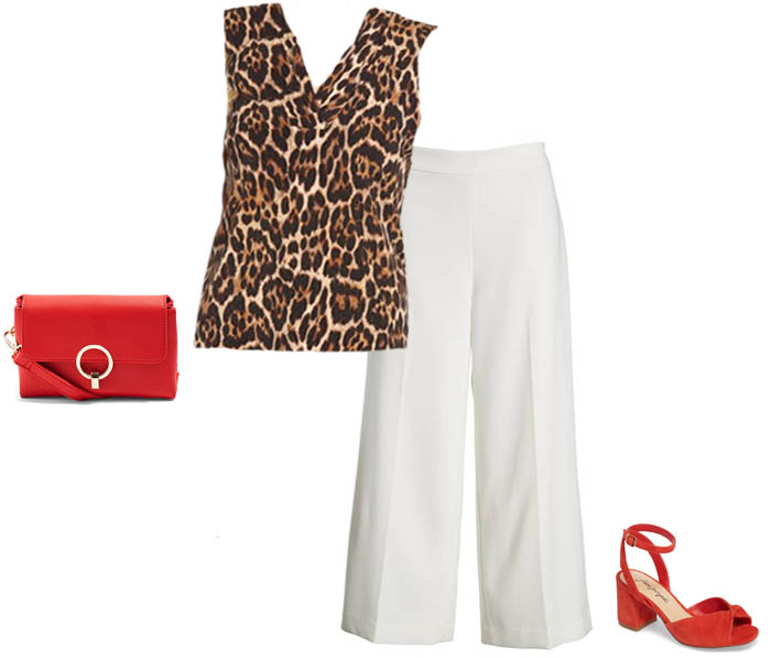 How to wear leopard print in summer | 40plusstyle.com