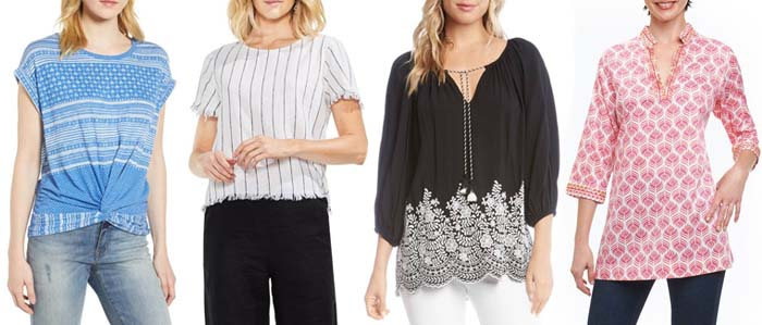 Chic tops for travel | 40plusstyle.com