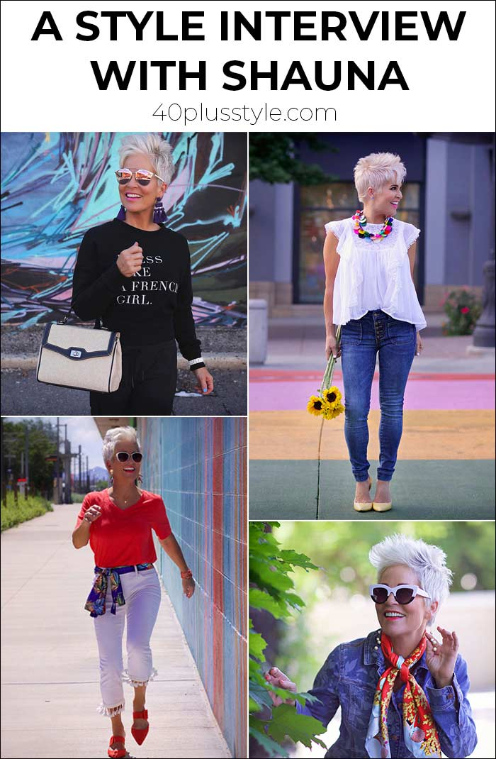 A style interview with Shauna   40plusstyle.com