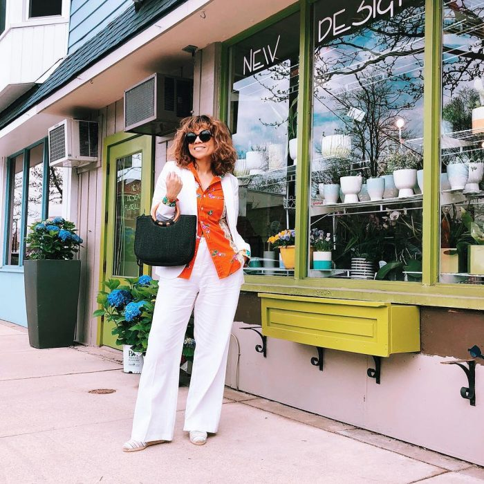 White suits for women over 40 | 40plusstyle.com