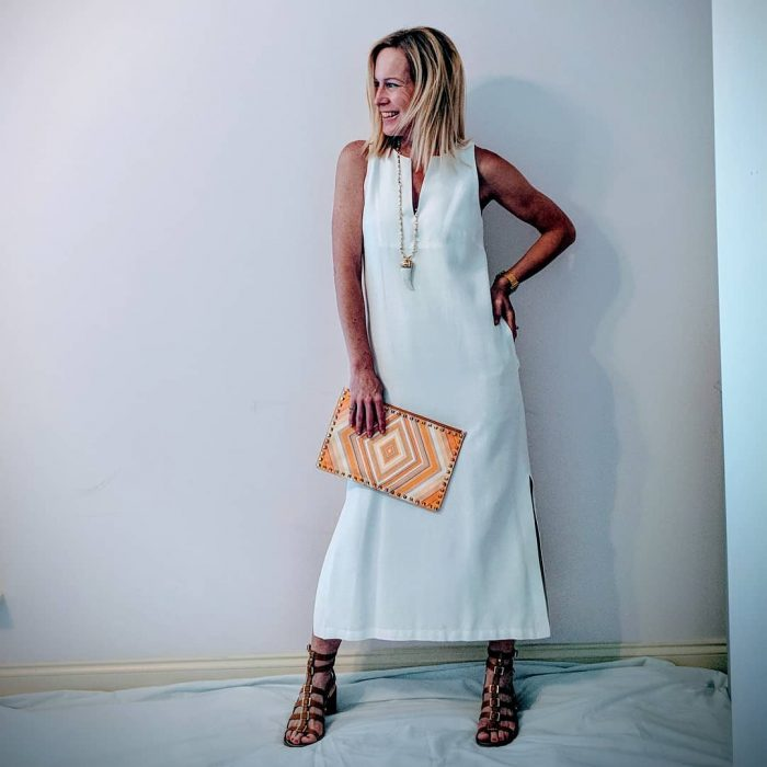 How to style a white dress | 40plusstyle.com