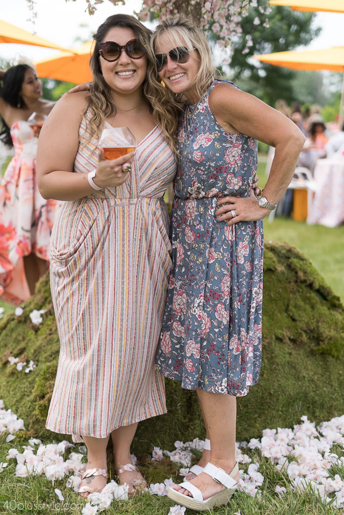 Beautiful print mix at the Veuve Clicquotpolo classic 2018   40plusstyle.com