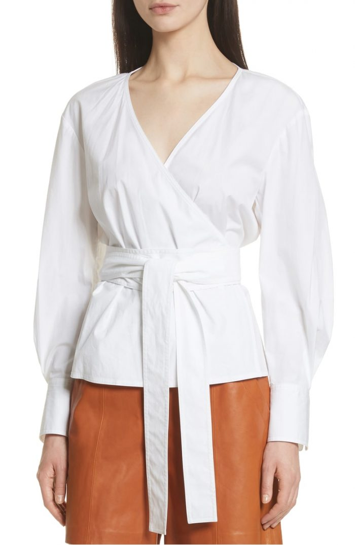 Designer wrap tops for women | 40plusstyle.com