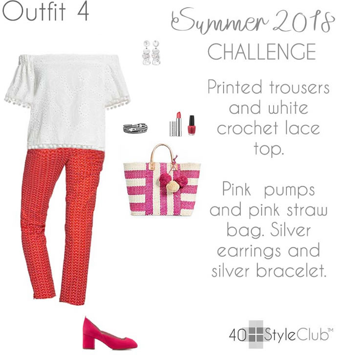 Summer 2018 capsule wardrobe - Outfit 4 | 40plusstyle.com
