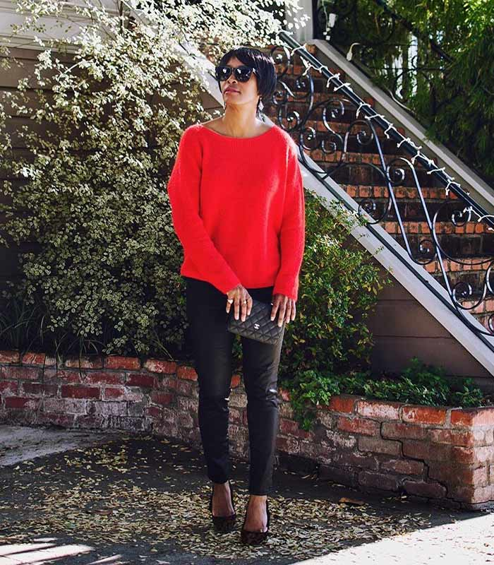 #40plusstyle Inspiration: 19 stylish looks featuring red | 40plusstyle.com