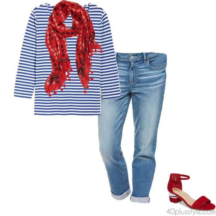 Classic breton stripes | 40plusstyle.com
