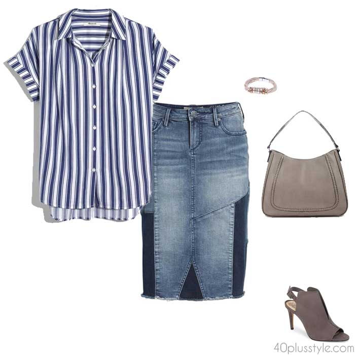 Striped shirts for women | 40plusstyle.com