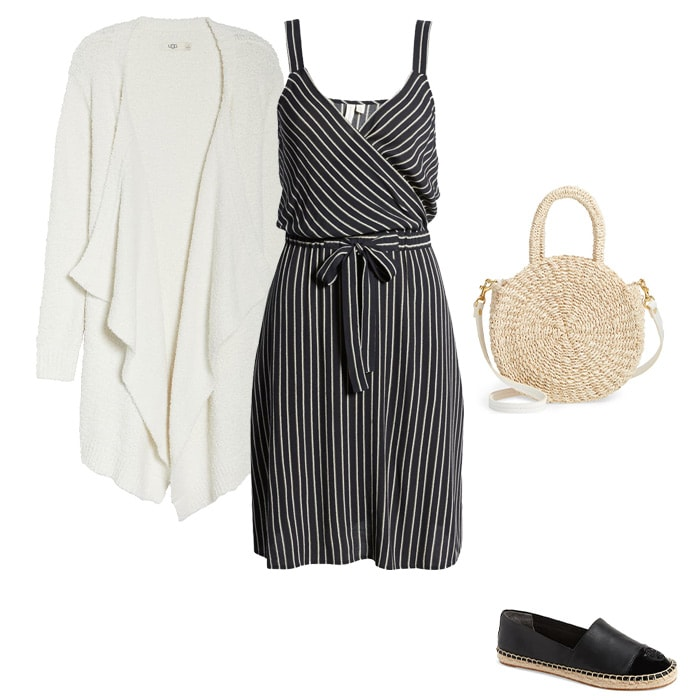 Low contrast stripes | 40plusstyle.com