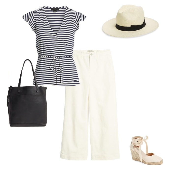 Summer stripes | 40plusstyle.com