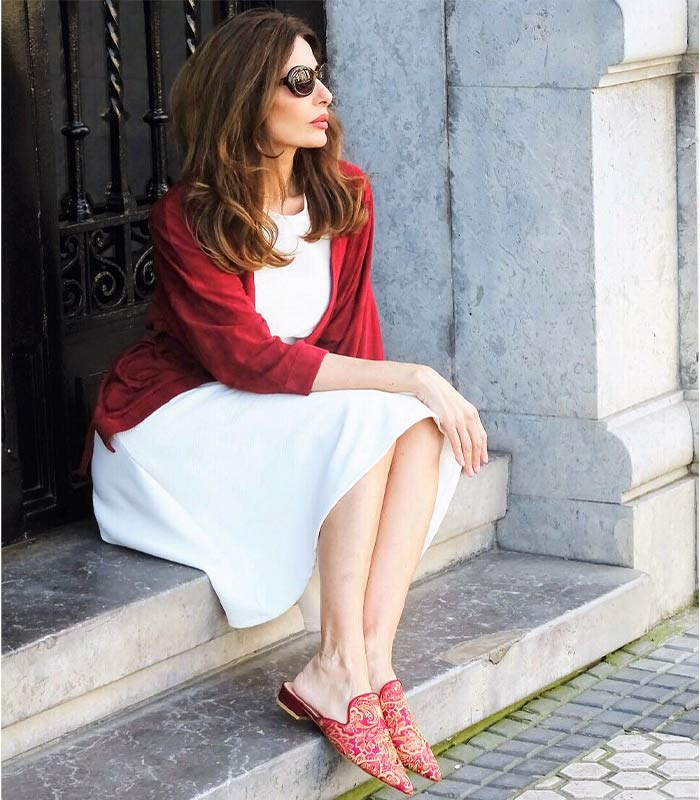 #40plusstyle Inspiration: 12 White Outfits For Summer | 40plusstyle.com