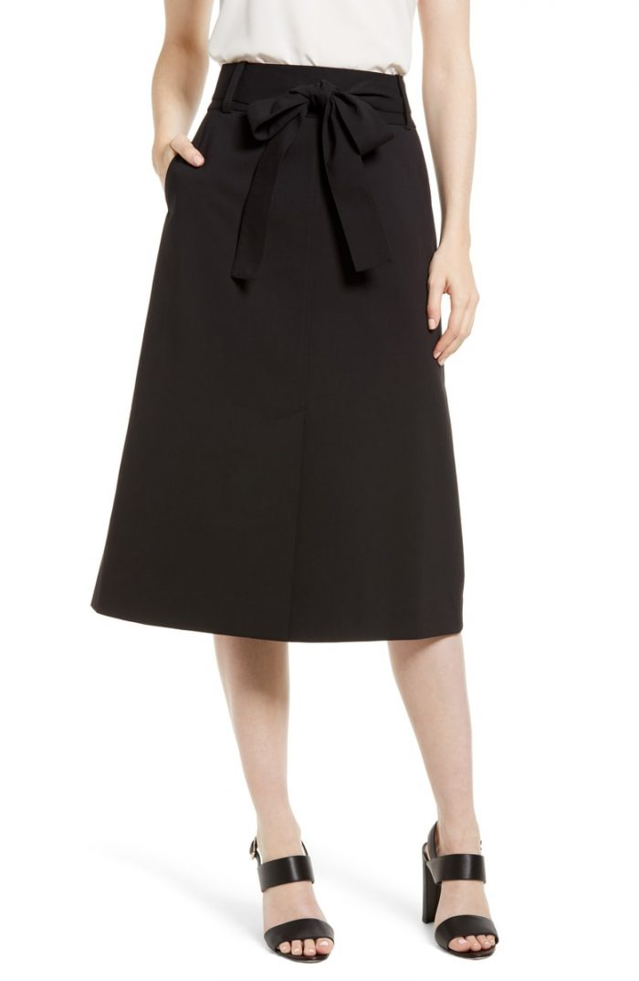 Classic skirts for the pear body shape | 40plusstyle.com