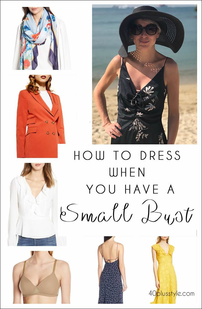 Best bras for small bust and what to wear if you have small breasts | 40plusstyle.com