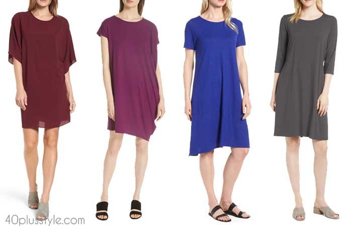 Draped dress - The best summer dresses with sleeves | 40plusstyle.com