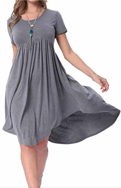 High low dress | 40plusstyle.com