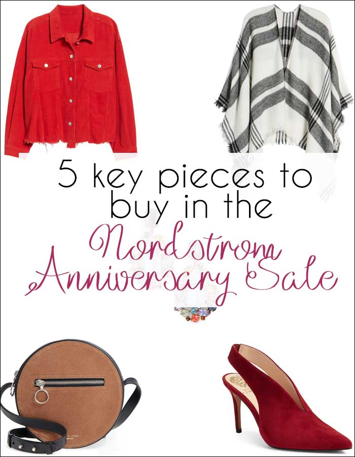 5 Key Pieces to Buy in the Nordstrom Anniversary Sale | 40plusstyle.com