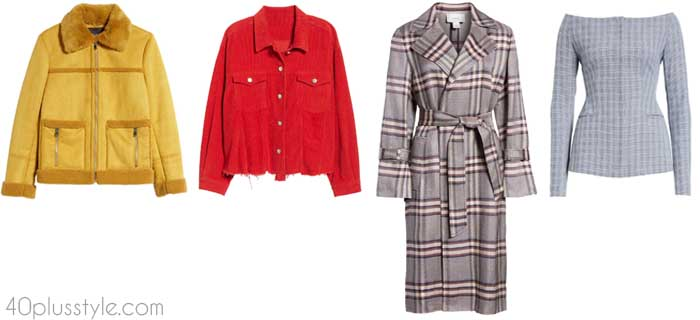 Transitional coats for women | 40plusstyle.com