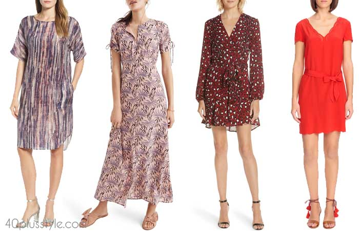 Silk dress - The best summer dresses with sleeves | 40plusstyle.com