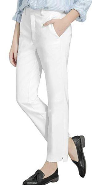 white cigarette pants   40plusstyle.com
