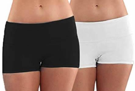 women's yoga shorts | 40plusstyle.com