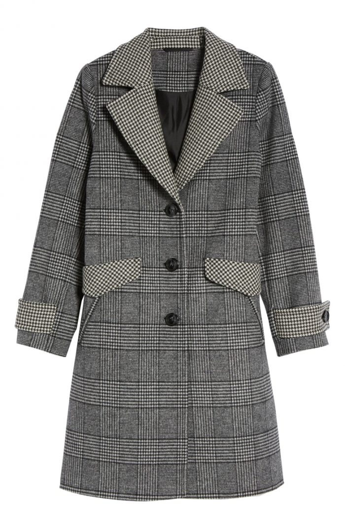 Plaid coats for fall | 40plusstyle.com