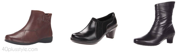 Aravon foot support shoes | 40plusstyle.com